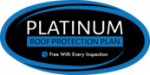 Click the logo to find out more about our Platinum Roof Protection Plan